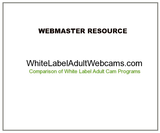 best white label adult cam programs